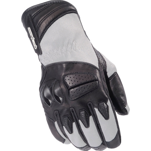 guantes cortech gx air 3 tela plateada xs