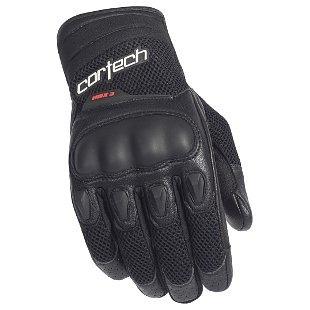 guantes cortech hdx 3, negro, xs