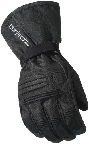 guantes cortech journey 2.1 p/motonieve negro sm