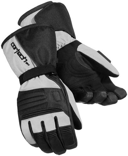 guantes cortech journey 2.1 p/motonieve plata/xl