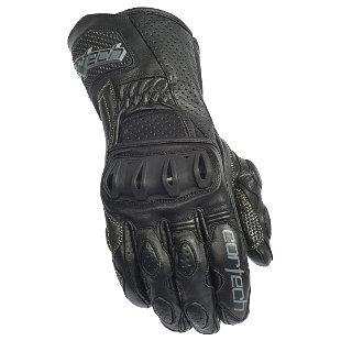 guantes cortech latigo 2, negro, sm rr de cuero