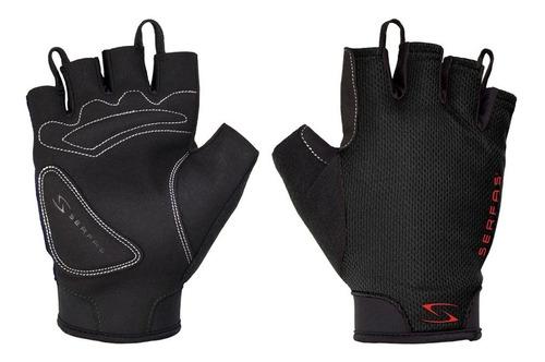 guantes cortos serfas starter negro