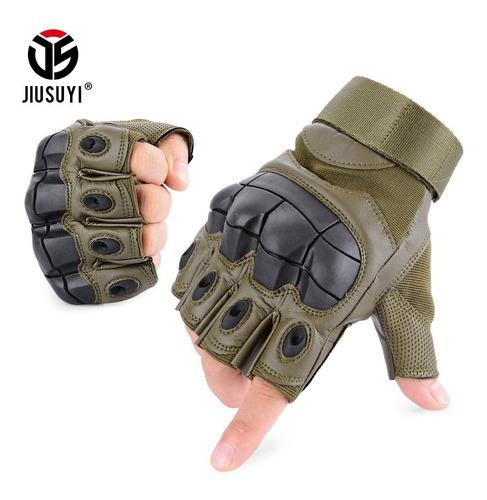 guantes cortos tácticos para bicicletas moto airsoft/forcecl
