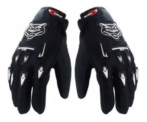 guantes cross enduro moto bici mtb antideslizante full fas