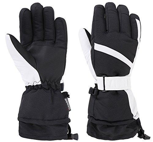 guantes d diana dickson women's winter waterproof ski snow g