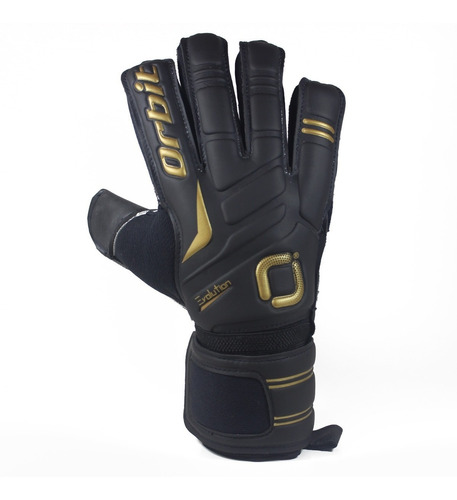 guantes de arquero fútbol evolution latex aleman 3mm negro