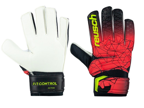 guantes de arquero reusch fit control action / tactic sports