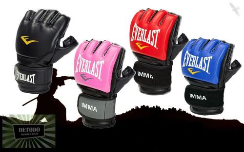 guantes de artes marciales mixtas mma everlast , en colores