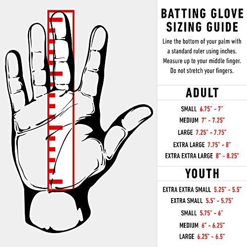 guantes de bateo de béisbol franklin sports mlb powerstrap