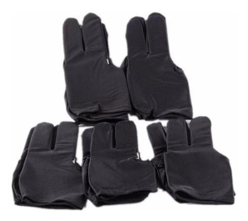 guantes de billar de licra (unitalla). envio desde 50 pesos