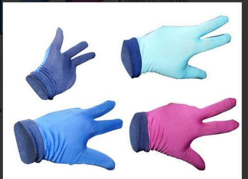 guantes de billar por 12 unidades