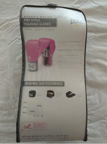 guantes de box everlast pro style training 12oz
