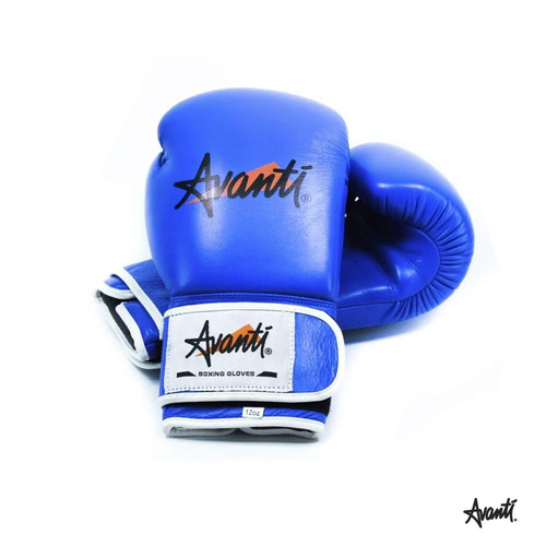 guantes de box kick boxing avanti peso 10 12 14oz vendas box