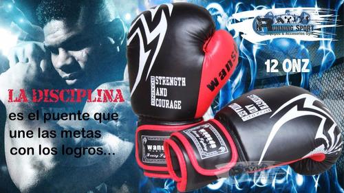 guantes de box o boxeo 12 onzas profesional