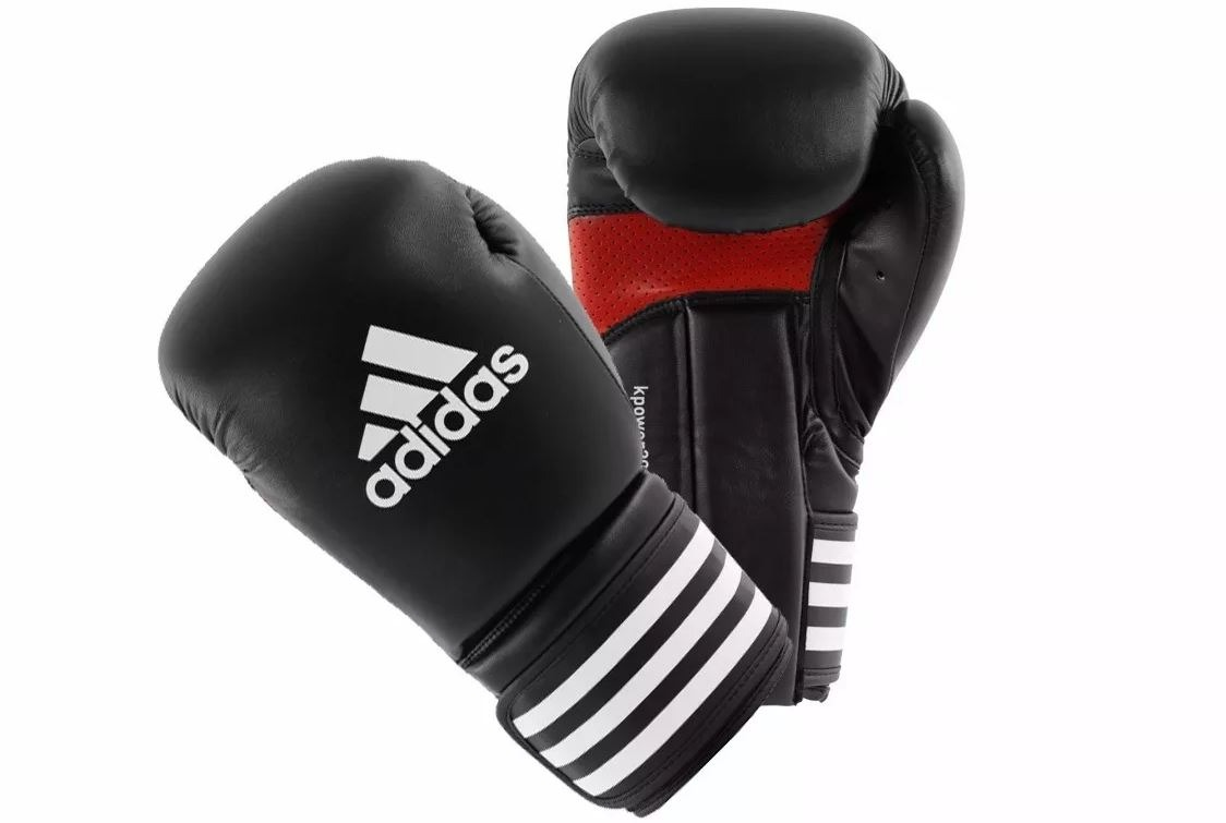 Adidas/  color/ negro / Guantes de boxeo Kick Power 200