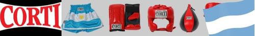 guantes de boxeo corti 16 oz cuero profesionales kick boxing