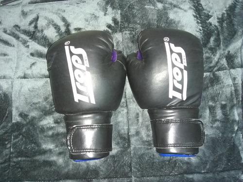 guantes de boxeo trops con poco uso