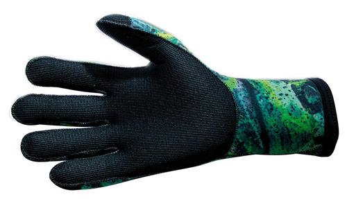 guantes de buceo 3mm green fusion talla 2(small) - epsealon