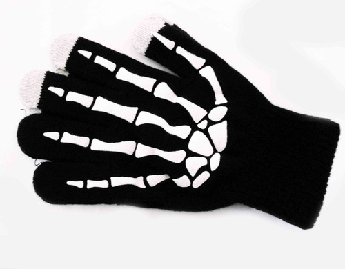 guantes de calavera skpalace excelente