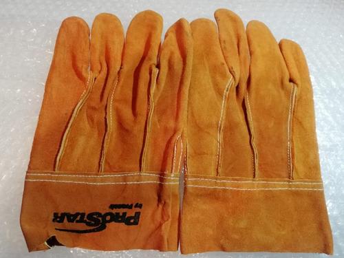 guantes de carnaza cortos