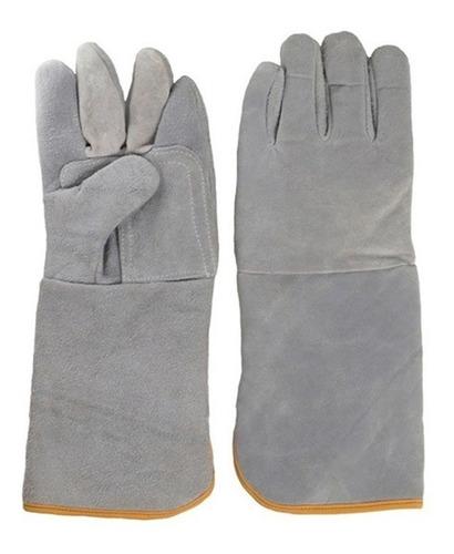 guantes de carnaza para soldador, 18