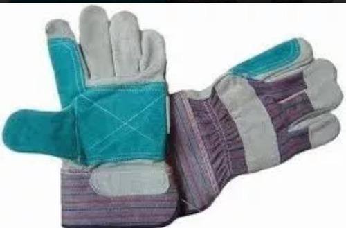guantes de carnaza reforzado