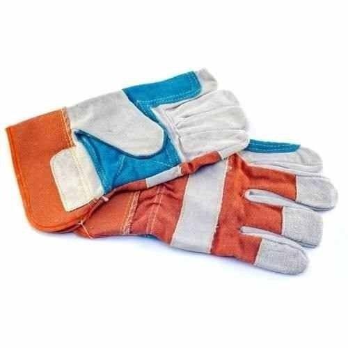 guantes de carnaza reforzados tipo pistola