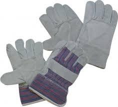 guantes de carnaza sencillo