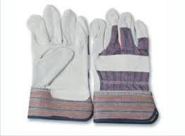 guantes de carnaza tipo petroleros