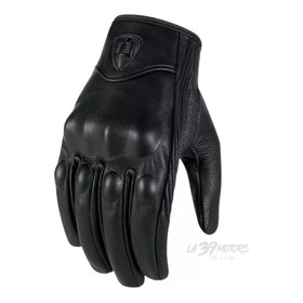 Guantes De Cuero Icon Pursuit Para Motos