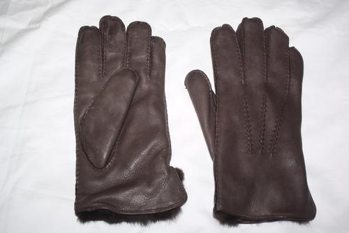 guantes de cuero unisex, importado de ee.uu