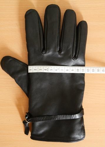 guantes de cuero zara para el frió unisex
