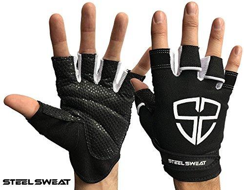 guantes de entrenamiento de sudor de acero: lo mejor para gi