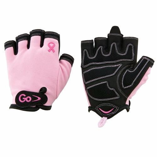 guantes de entrenamiento para mujer breast cancer gofit t:m