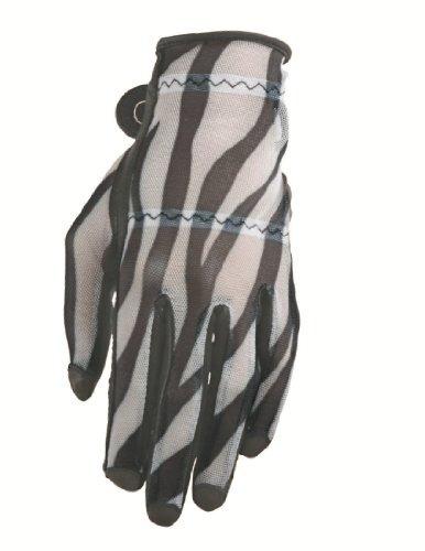 guantes de golf de longitud completa hj glove black zebra so