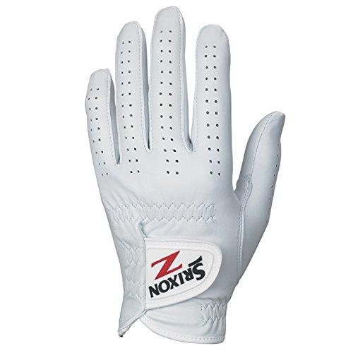guantes de golf srixon mens z cabretta, blanco, grande, mano