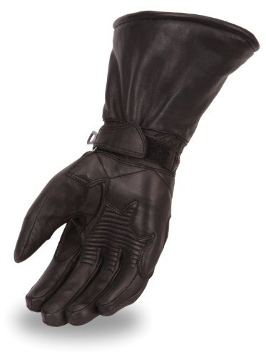 guantes de guantelete impermeables para hombre. dibujar cade