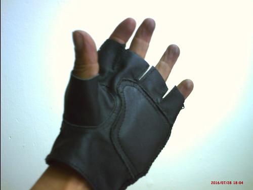 guantes de gym/pesas/manejar/ de cuero/somos fabricantes.