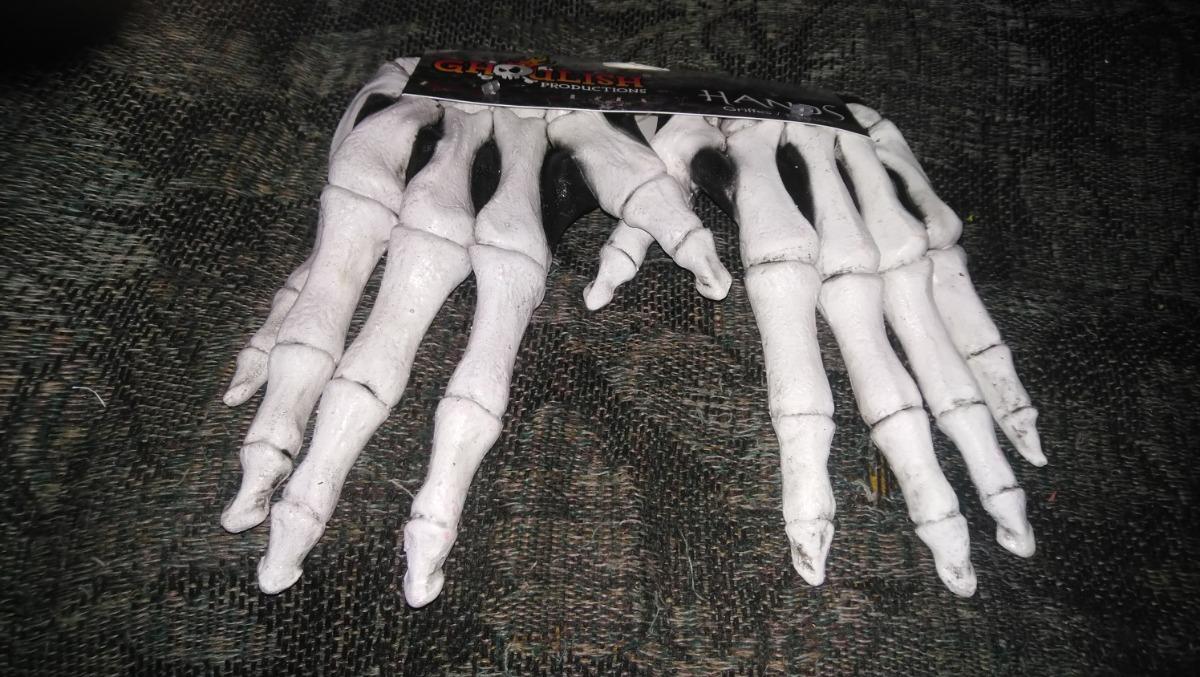 Guantes De Huesos Calavera Adulto Latex Halloween Catrin -   250.00 ... 36e21b0f062
