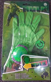 Juguete Guantes Hulk Lanzatazos Avengers De N80wmn