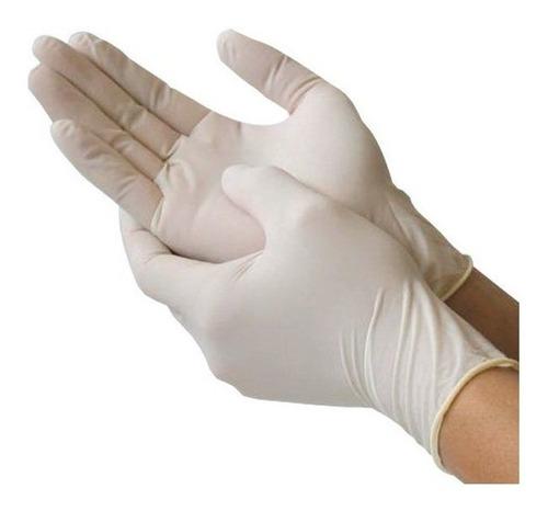 guantes de latex descartables todos los talles x 100