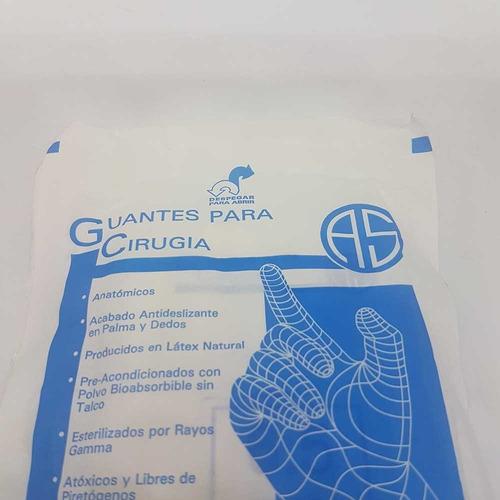 guantes de látex esteriles para cirugía x par