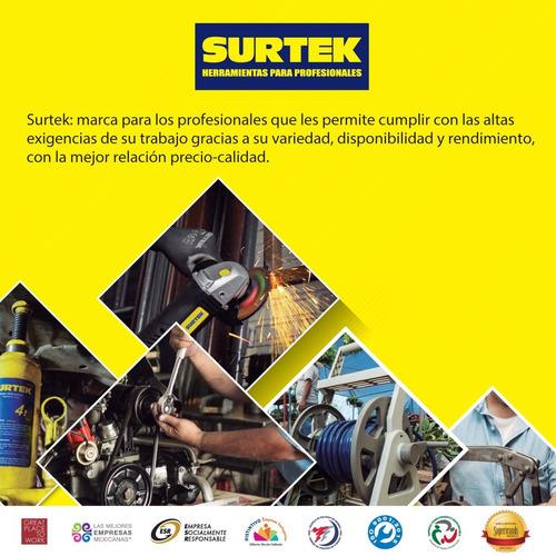 guantes de látex uso industrial talla chica surtek 137397