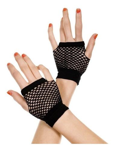guantes de malla o red (cortos)