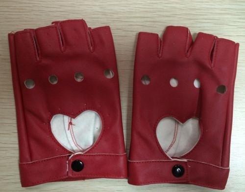 guantes de medio dedo al aire para hacer juego a gusto