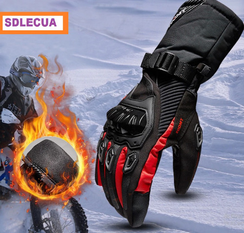 guantes de moto impermeables termicos proteccion suomy
