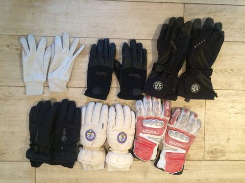 guantes de nieve
