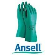 guantes de nitrilo ansell 13  con flokado 37-175