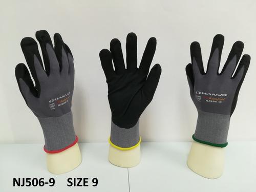guantes de nitrilo, impermeables, anticortes, trabajo...