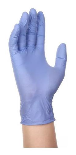 guantes de nitrilo para examen sin polvo